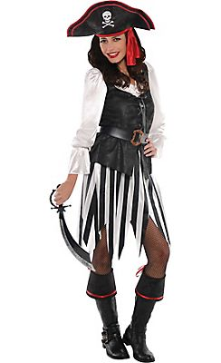 adult high sea sweetheart pirate costume