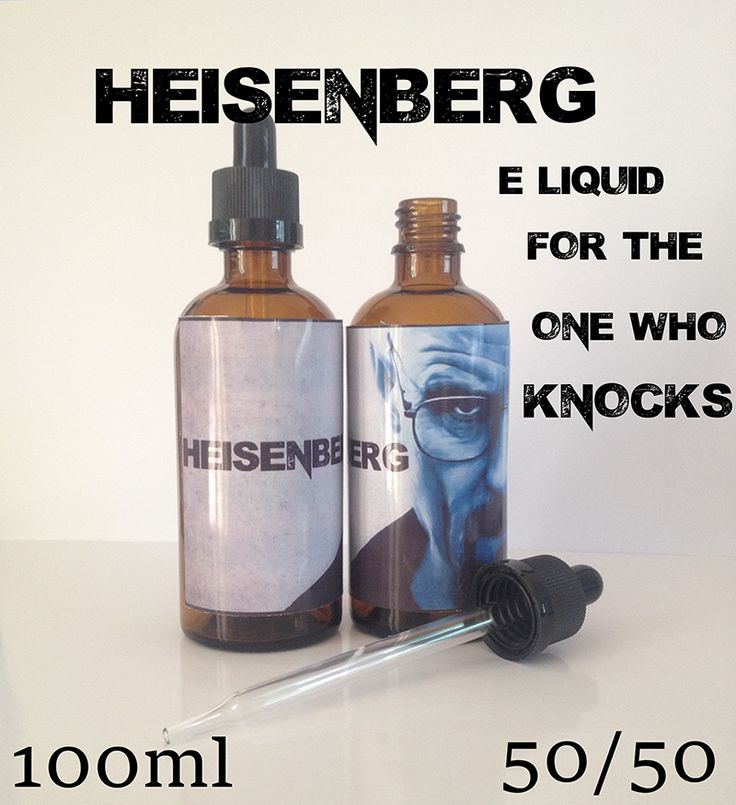 Get 100ml Of Your Favourite HEISENBERG Eliquid Just £15.95 with FREE UK DELIVERY! http://ape-vape.co.uk/collections/100ml-silverback/products/100ml-silverback-heisenberg