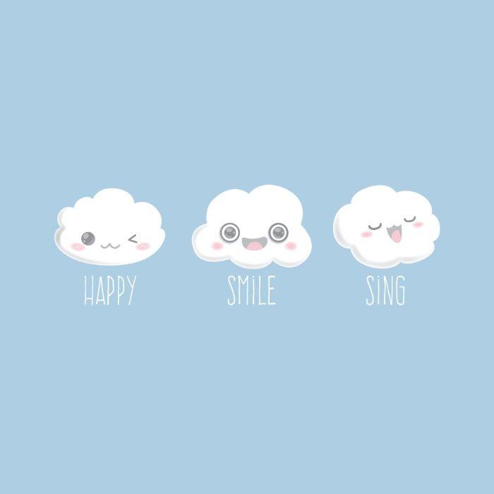 Happy Smile Sing Canvas Print