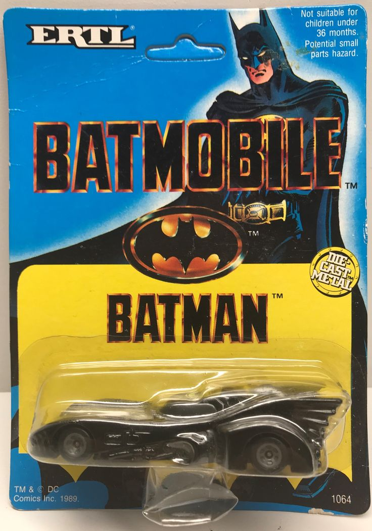 The Angry Spider Has All Of The Toys You Want For Your Collection: TAS038526 - 1989 ...  Check it out here! http://theangryspider.com/products/tas038526-1989-ertl-die-cast-batman-batmobile?utm_campaign=social_autopilot&utm_source=pin&utm_medium=pin