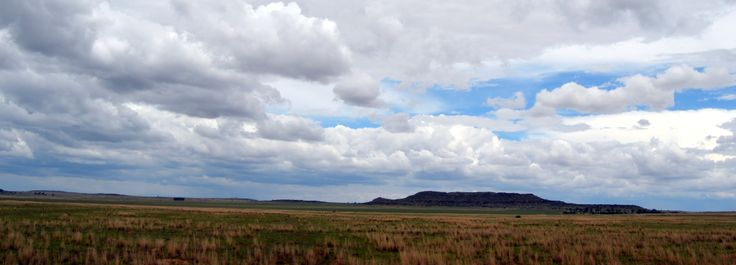 Big skies somewhere in the Free State by Rosemary Hall