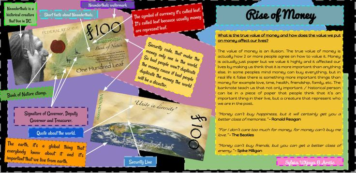 All about the 'Rise of Money'... Be sure to check it out! -Sylvia-