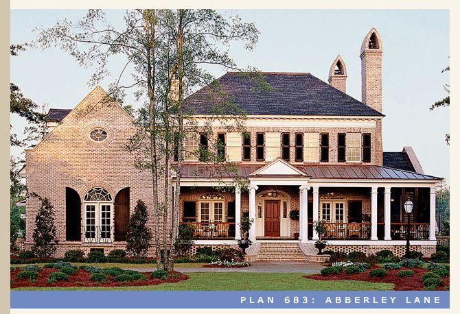 Southern living abberley lane house plan houses Southern charm house plans