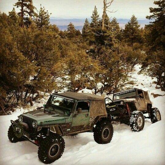 Snow Jeeps