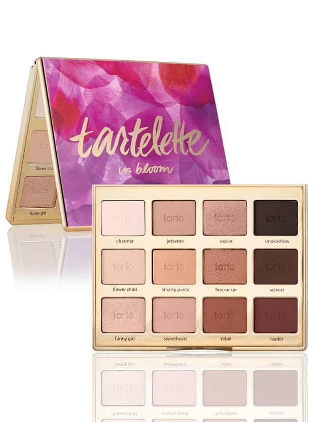 Tarte Tartelette In Bloom Eyeshadow Palette | Must-Have Eyeshadow Palettes | Makeup Tutorials Guide