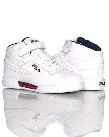 fila f13. fila mid top men\u0027s sneaker lace closure with single velcro strap padded tongue logo. fila f13