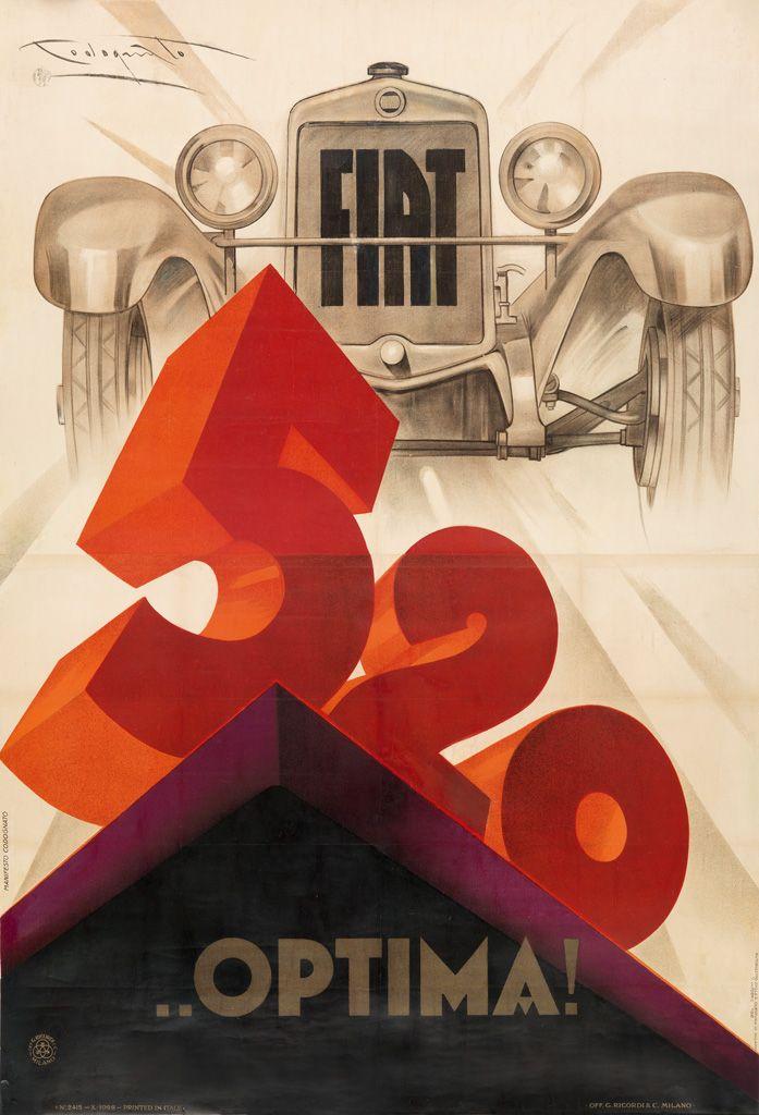 Fiat 520... Optima ! 1928 - (Plinio Codognato) -