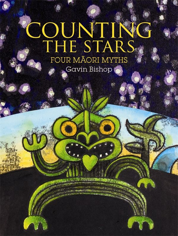 Counting The Stars by Gavin Bishop - A collection of four excitingly told and stunningly illustrated Maori stories for children, by award-winning New Zealand children's writer and illustrator Gavin Bishop. Counting The Stars continues to take traditional myths to a new level. Created by one of New Zealand's most talented and passionate children's book writers and illustrators.