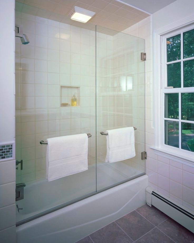 Good Looking tub enclosures in Bathroom Contemporary with Bathtub Enclosures next to Frameless Tub Door alongside Curved Shower Doors and Glass Door Bathtub