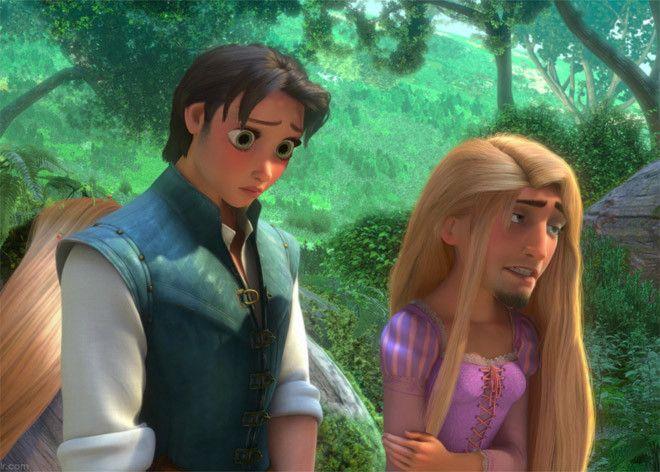 21 Cambios de Cara de Personajes de Disney… El