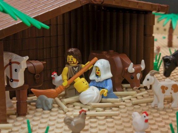 Waarom kerst 2015 het kerstverhaal in lego verbeeld door Brendan Powell Smith spirituele Kerst.004