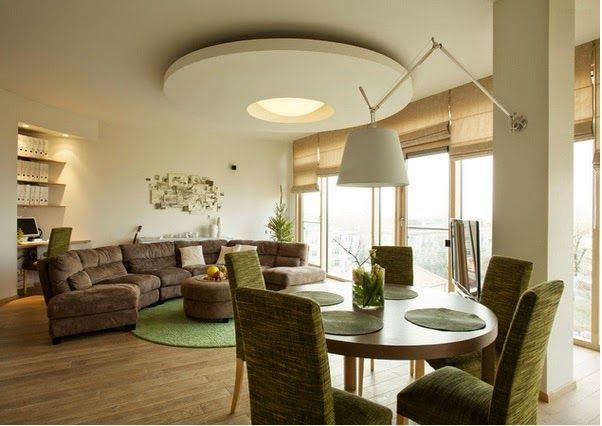 Différents traitements de plafond du salon ~ Décoration Salon / Décor de Salon