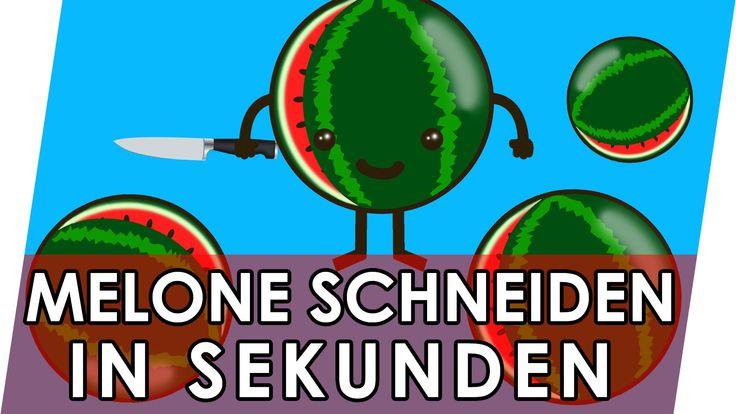 Melone schneiden in Sekunden   Geniale Fakten, Tipps & Tricks