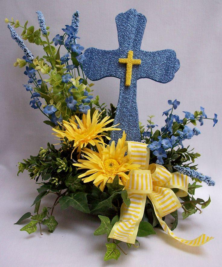 Cross Wedding Altar Flowers: Wedding Crosses With Flowers