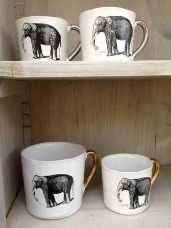 1000 images about elephants on pinterest beautiful jonathan adler and an elephant - Jonathan adler elephant mug ...