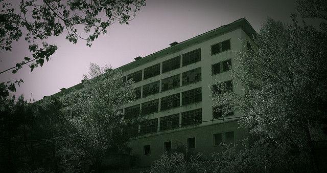 Hospital abandonado en el valle de La Barranca - Navacerrada