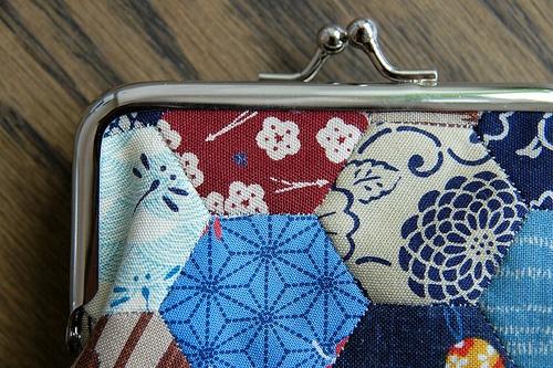 Johanna's Snap Coin Purse by the workroom, via Flickr