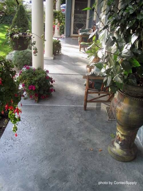 1000 Ideas About Concrete Porch On Pinterest Stained