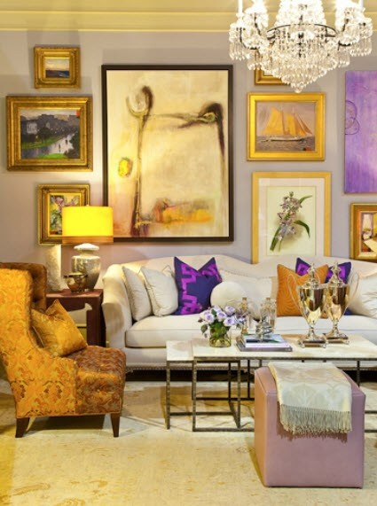 380 best images about living well on pinterest chairs for Mauve living room ideas