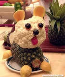 puppy food art