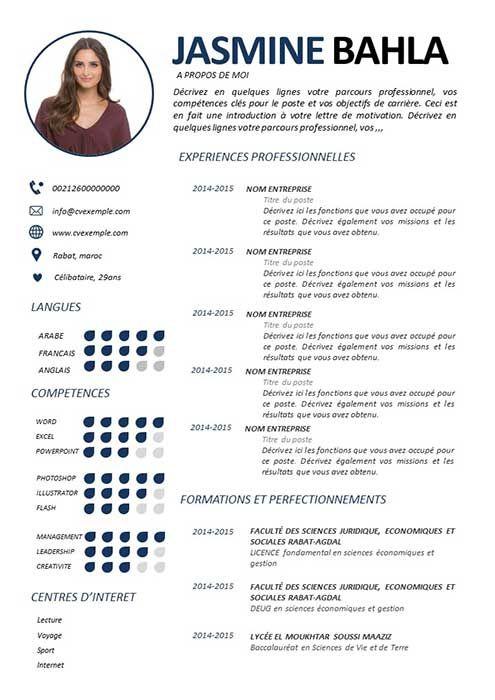 150 Exemple de CV Gratuit à Télécharger sous format ...
