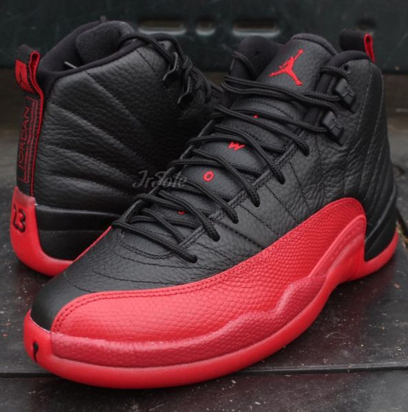 More images of the upcoming Air Jordan 12 Flu Game is featured. Look for the model at Jordan Brand stores on May 28th for $190.