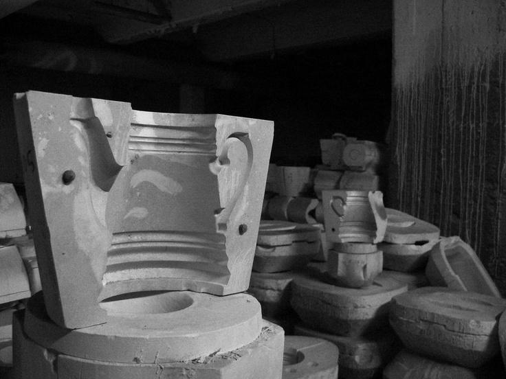 @porcelain factory in Katowice, former Giesche porcelain
