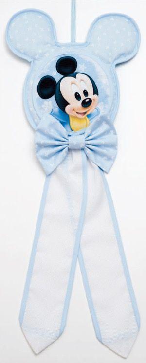 Fiocco nascita - Topolino Baby