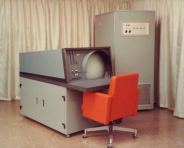 vintage computing '58 By retro-space at flickr
