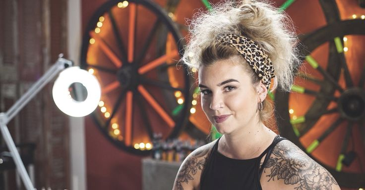 Alice Perrin from Tattoo Fixers