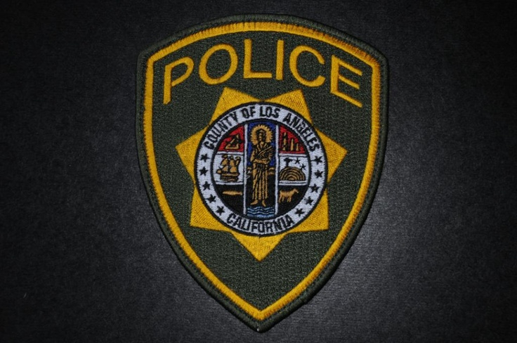 Los Angeles County Police Patch, California (Defunct - 1998-2010 Issue - Department disbanded in 2010, services now handled by Los Angeles County Sheriff)