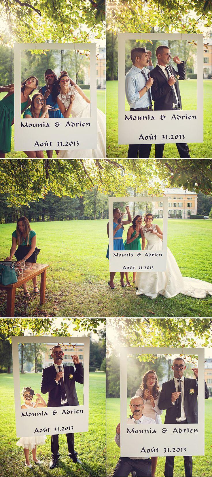 Ideias para animar as fotos do seu casamento