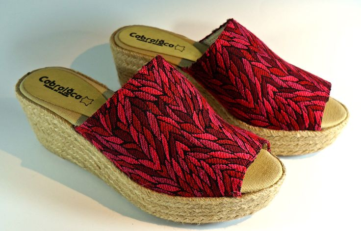 Yute wedges for freshness and comfort. MA-08