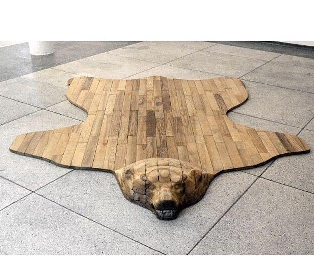 I have bear feet. Bear rug, whaaaaat?