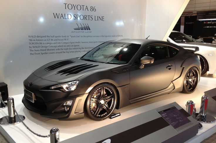 Scion FRS Tuner » Wald ZN6 Sports Line Body Kit for Toyota 86 & Scion ...