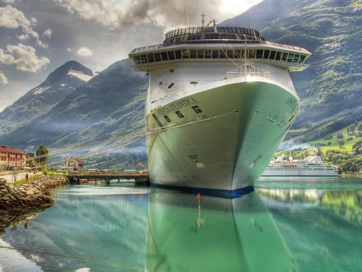 Costa Atlantica - Fjord, Norway
