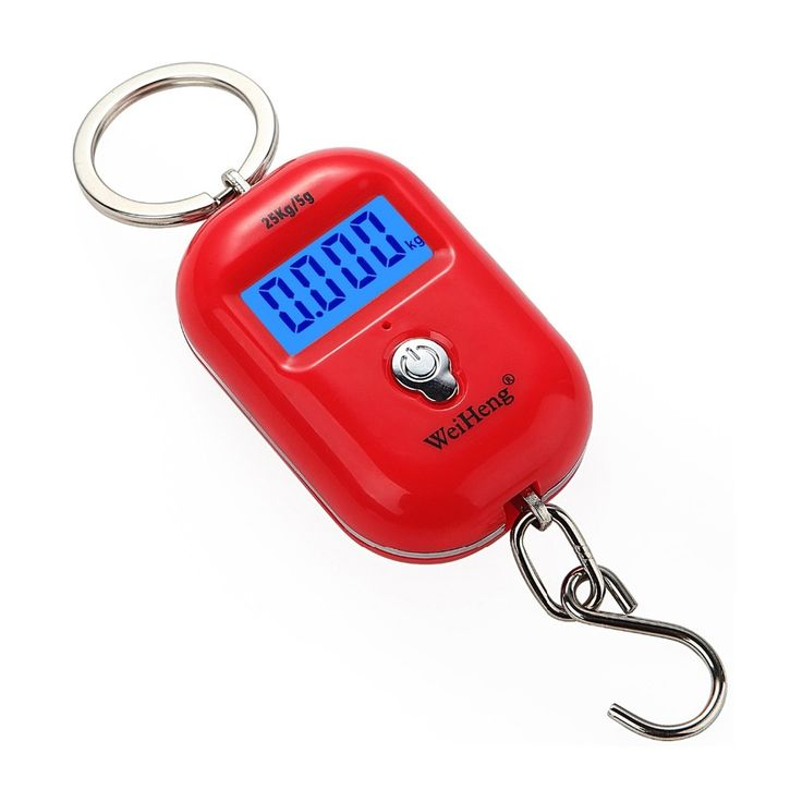 25Kg/5g Portable Dual Accuracy Mini Pocket Luggage Digital Electronic Scale