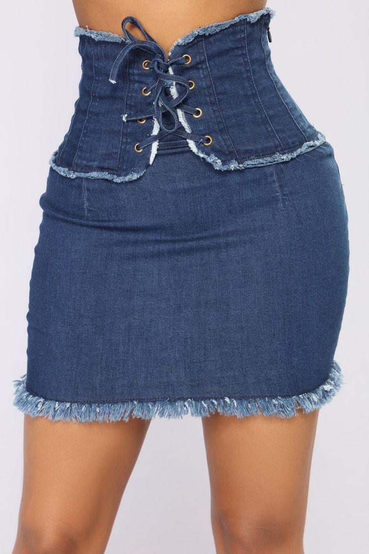 Hopelessly Devoted Mini Skirt - Dark