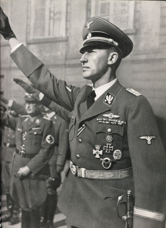 a history of the ss in nazi germany Founded in 1925, the schutzstaffel, german for protective echelon, initially served as nazi party leader adolf hitler's (1889-1945) personal bodyguards, and later became one of the.