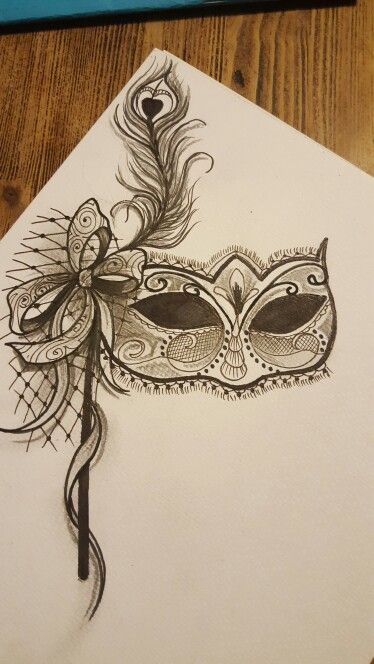 Masquerade mask By paul 13tattoo                                                                                                                                                                                 Mehr