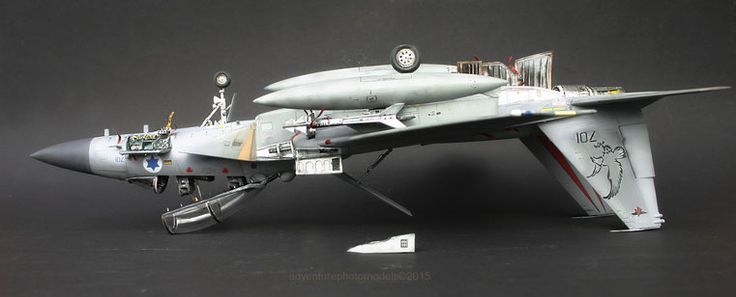 "Boeing F-15 Ds Israeli Air Force ""Improved Baz"" - Great Wall Hobby kit, 1:48 scale model ( customized)"