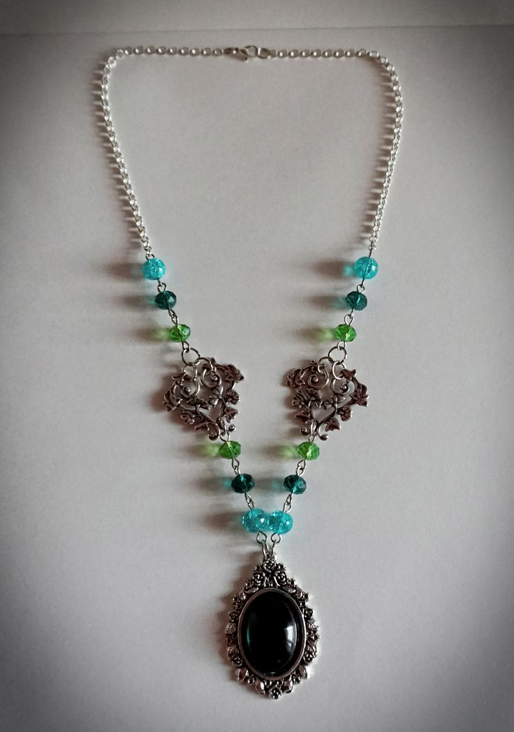 """Frosted Ivy"" Necklace"