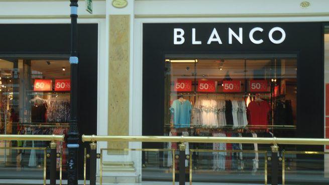 Desahucian a tiendas de la cadena textil Blanco por no pagar el alquiler