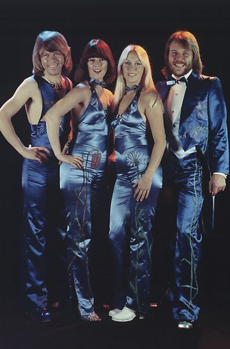 ABBA--always wore the most amazing outfits and were ahead of the times