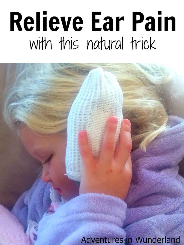 Ear infections are painful, especially for our little ones. Relieve ear pain with this simple to make natural trick. This requires no medication or remedies to help relieve ear pain.