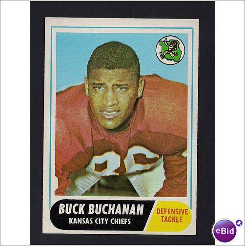 Buck Buchanan - 1968 Topps #197