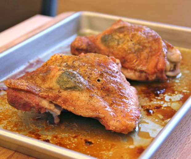 roasted turkey thighs, I found organic turkey thighs at my local grocery store, excited to try this!