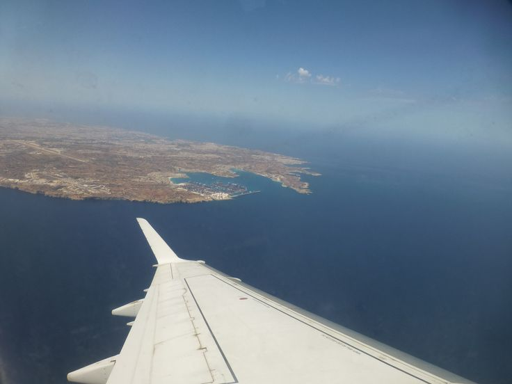 Take off from Valletta, Malta! May, 2013