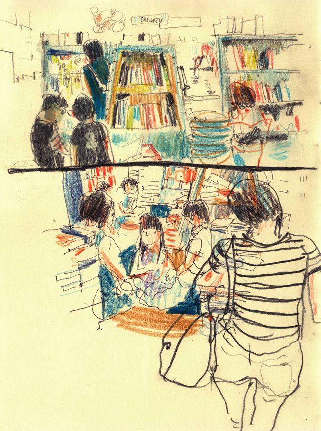 wibble wibble: sketchbook
