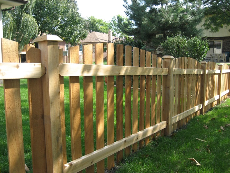 17 Best Images About Cedar Fence On Pinterest Fence